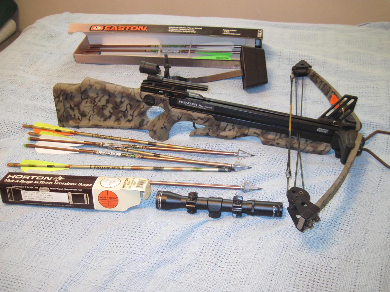 Horton Hunter Supreme Crossbow | Ohio Game Fishing - Your Ohio