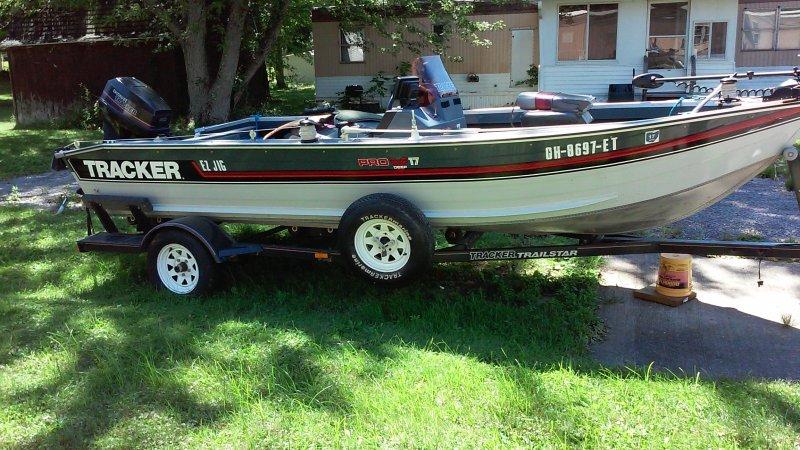 Tracker pro deep v 17 ohio game fishing your ohio fishing resource - Tacker fur polstermobel ...