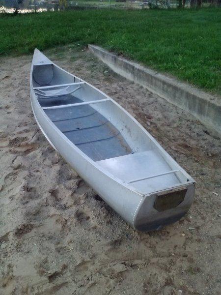 Grumman 15ft Canoe | Ohio Game Fishing - Your Ohio Fishing