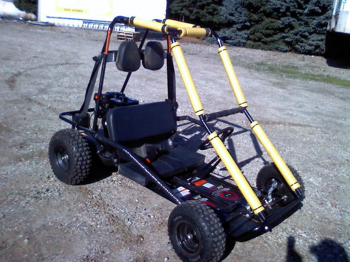Go Kart: Fox 2 seater, 5HP | Ohio Game Fishing - Your Ohio