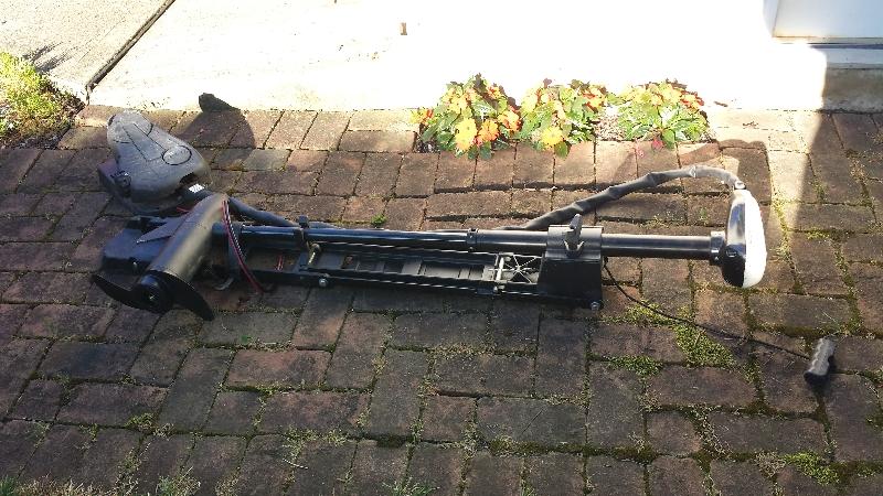 Minn Kota AT 40 lb thrust bow mount $75 BO   Ohio Game Fishing
