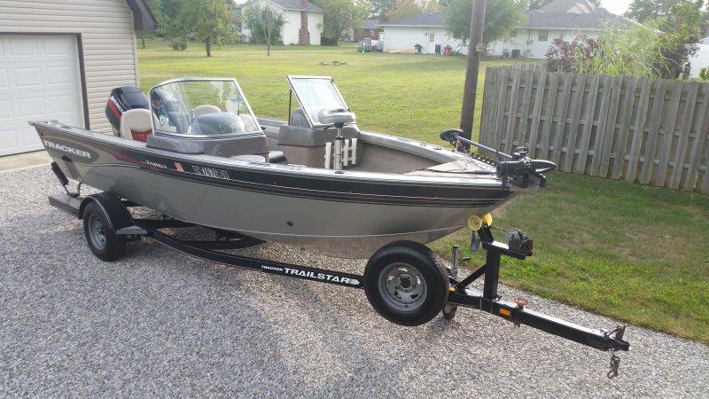 2004 Tracker Targa 18 Deepv 12 000 Ohio Game Fishing