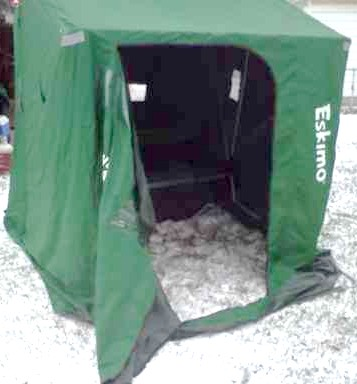 3man.jpg & for sale Eskimo 3 man Ice Fishing Shelters shanty   Ohio Game ...