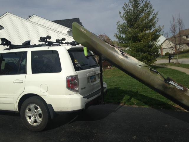 Thule GoalPost Truck Rack kayak/canoe assist loader | Ohio ...