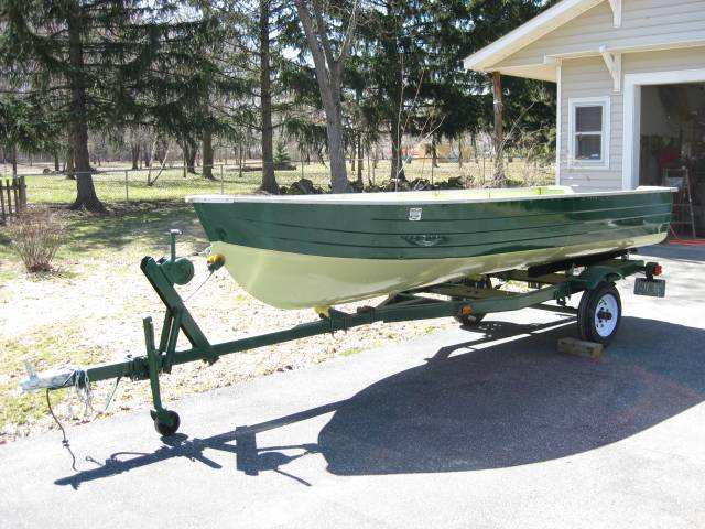 Painting A 10 Aluminum Jon Boat Ohio Game Fishing Your