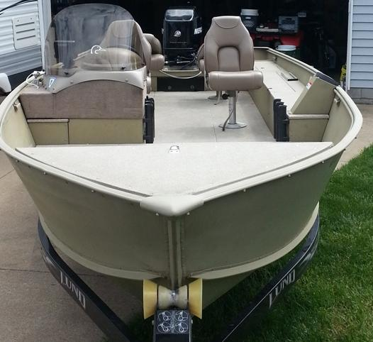 20 Ft Lund Alaskan SS For Sale | Ohio Game Fishing - Your