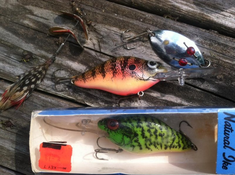 Tackle boxes and misc items ohio game fishing your for Ohio fish and game
