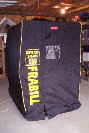 Frabill ® Speed Shak Cub Ice Shanty Shelter | Ohio Game