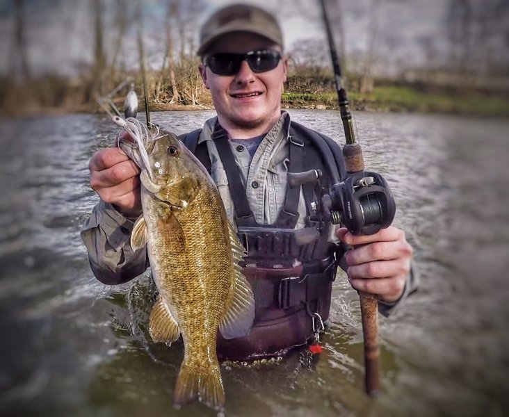 Spinnerbait has been key river report ohio game for Ohio river fishing report