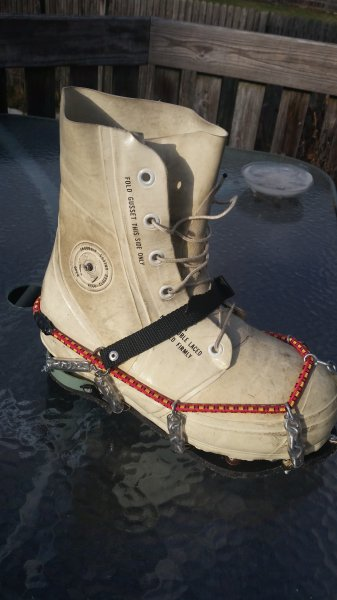 Ice cleats ohio game fishing your ohio fishing resource for Ice fishing cleats