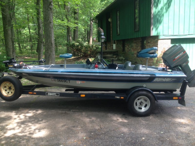 Bass boat for pop up camper ohio game fishing your for Fishing boats for sale in ohio