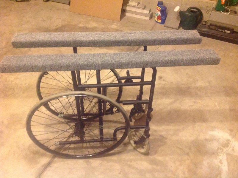 Canoe cart cabelas steel cart of diy ohio game fishing for Cabelas fishing kayak