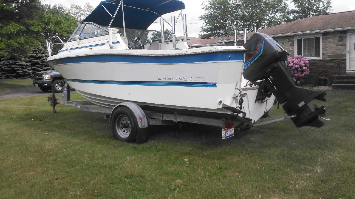 For sale 1990 bayliner trophy ohio game fishing your for Nd game and fish stocking report