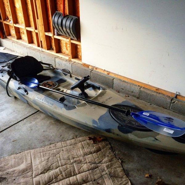 Eagle talon 12 fishing kayak ohio game fishing your for Field and stream fishing kayak