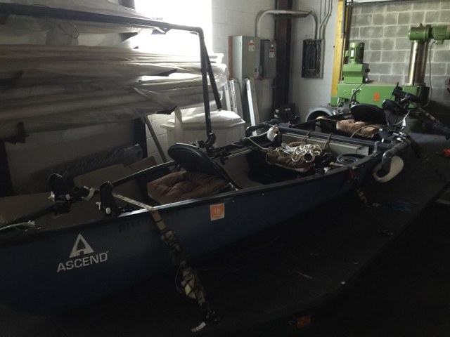 Ascend C156 Canoe For Sale Like New 450 Ohio Game