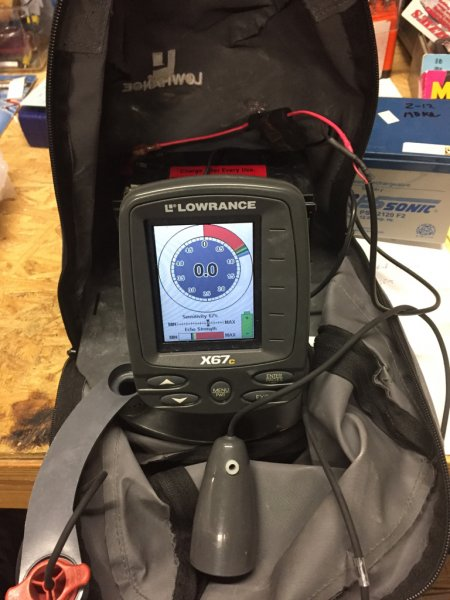 For Sale Lowrance X67c Ice Flasher And Sonar Ohio Game