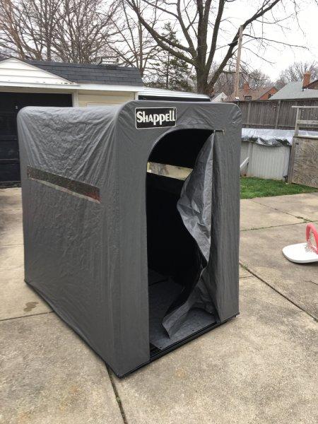 Shapely S3000 ice shanty | Ohio Game Fishing - Your Ohio