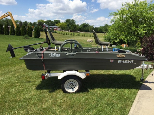Pelican Bass Raider 10 6 Boat For Sale Ohio Game
