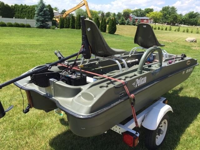 Pelican bass raider 10 6 39 boat for sale ohio game for Pelican bass raider 10e fishing boat