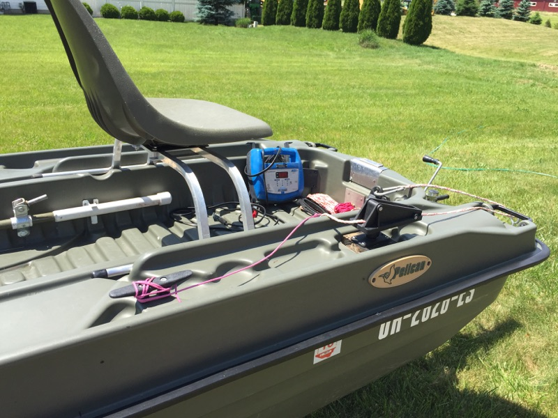 Pelican bass raider 10 6 39 boat for sale ohio game for Fishing boats for sale in ohio