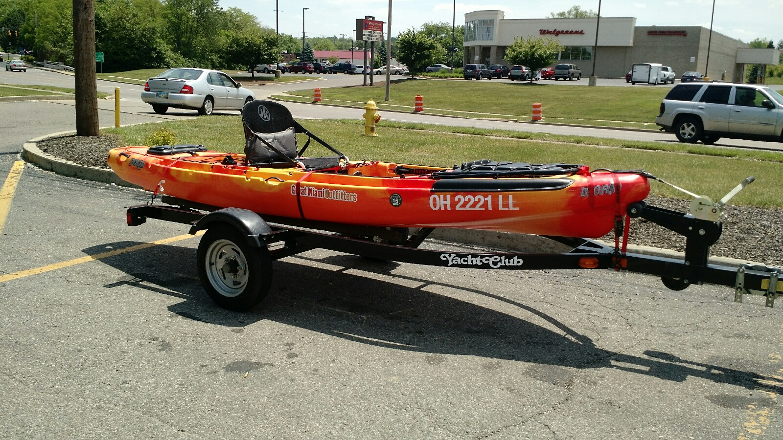 Kayak Trailer Ohio Game Fishing Your Ohio Fishing Resource