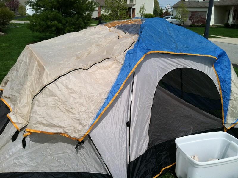 IMG_2041.JPG & Sears Sir Edmund Hillary Sport Dome Tent | Ohio Game Fishing ...