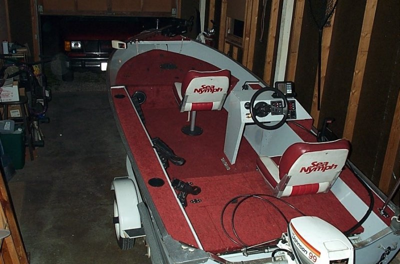 1981 sea nymph fishing machine 16' ohio game fishing your ohio Sea Nymph Aluminum Boats Accessories at gsmx.co