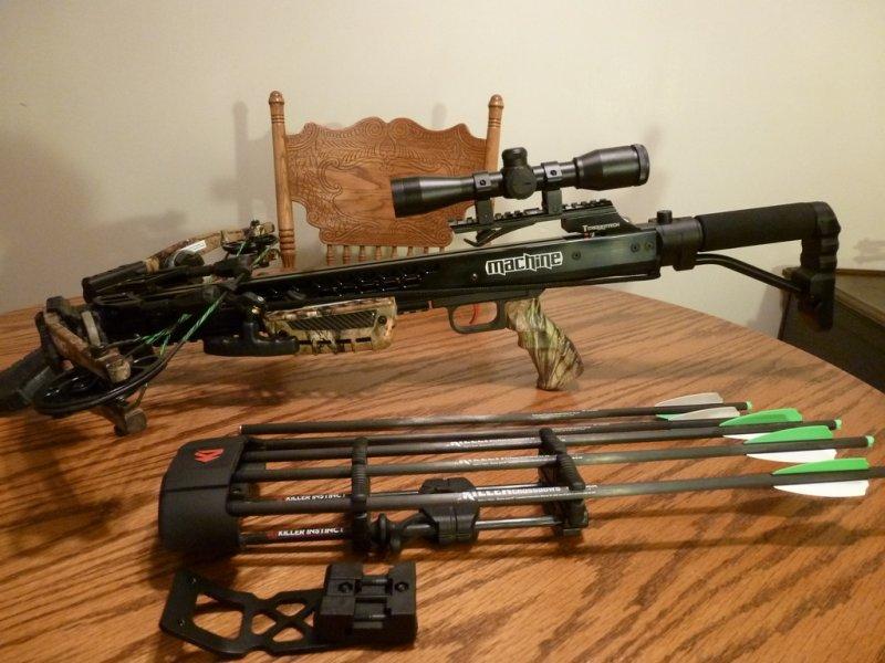 Killer Instinct Machine Crossbow 385 Fps Ohio Game Fishing Your