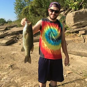 SMALL MOUTH BASS - OHIO RIVER