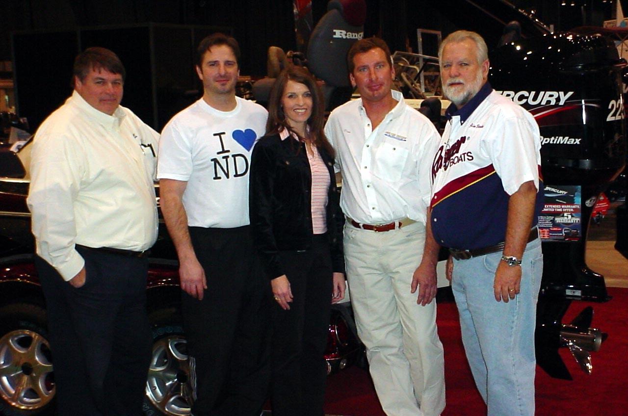 Boat show w norton crew ohio game fishing your ohio for Ohio fishing expo