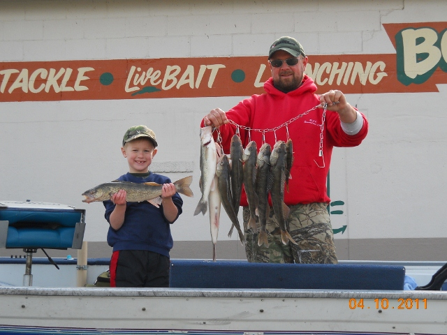 March and april catches ohio game fishing your ohio for Ohio fish and game