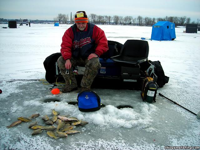 Presque isle bay 2 21 08 ohio game fishing your ohio for Wsbtv fish and game